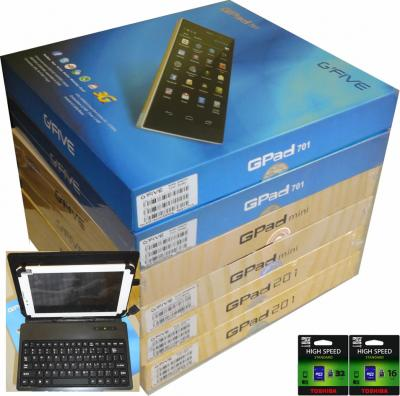 Tablette android phone g'five gpad 201