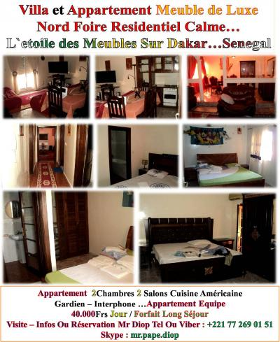 locations dakar a louer vide ou meuble appartement studio dakar petites annonces gratuites. Black Bedroom Furniture Sets. Home Design Ideas