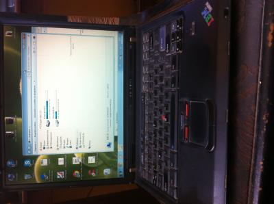 vend ordinateur thinkpadT42