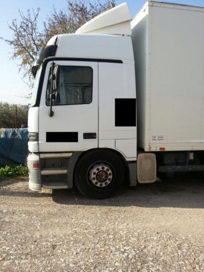 Mercedes MB1835 Actros