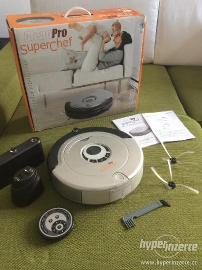 Aspirateur robot intelligent cleanpro superchef cf