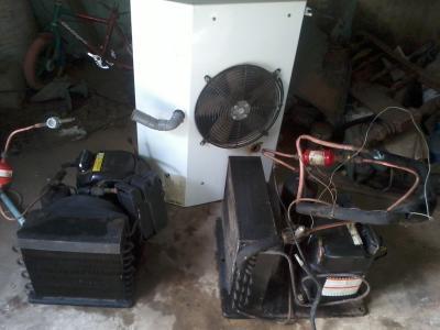 Electromenager : moteur chambre froide + évaporateur à 490 ...