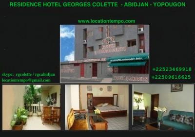 HOTEL ABIDJAN - RESIDENCE HOTEL GEORGES COLETTE