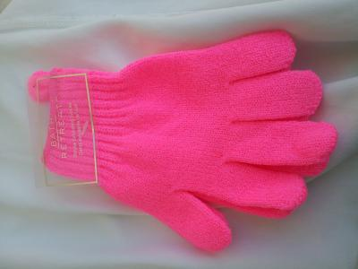 Gants de toilette exfoliants