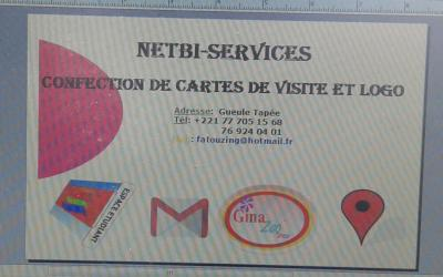 confection de cartes de visite