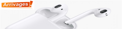 Apple AirPods – Ecouteur intra-auriculaire