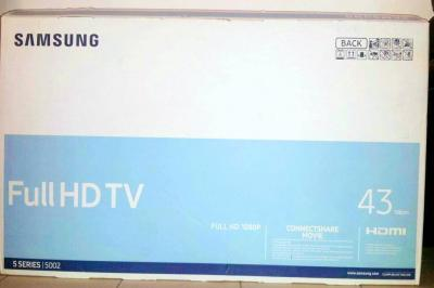 "TABLE TELE + TELE SAMSUNG 43"" LED FULL HD"