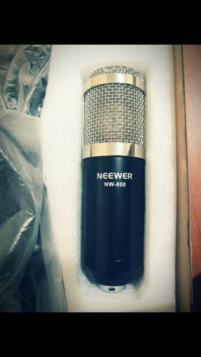 Ensemble microphone pour Studio  Neewer NW 800