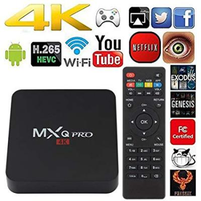 Vends des Box android TV Wifi ultra 4k