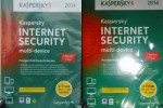 Kaspersky internet security2014 - 4postes-1an