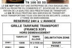 taxi bagage demenagement