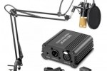 Kit micro complet Neewer NW 800 avec alimentation