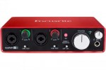 Carte son focusrite scarlett 2i2
