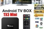 Vends des Box android TV ultra 4k Full HD