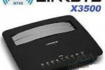 Vends  Linksys X3500 Gigabit Dualband