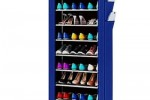 Armoire A Chaussures 27 Paires - Bleu